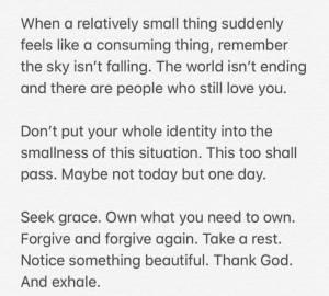 Calming Words